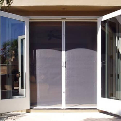 french door screen installation Utah