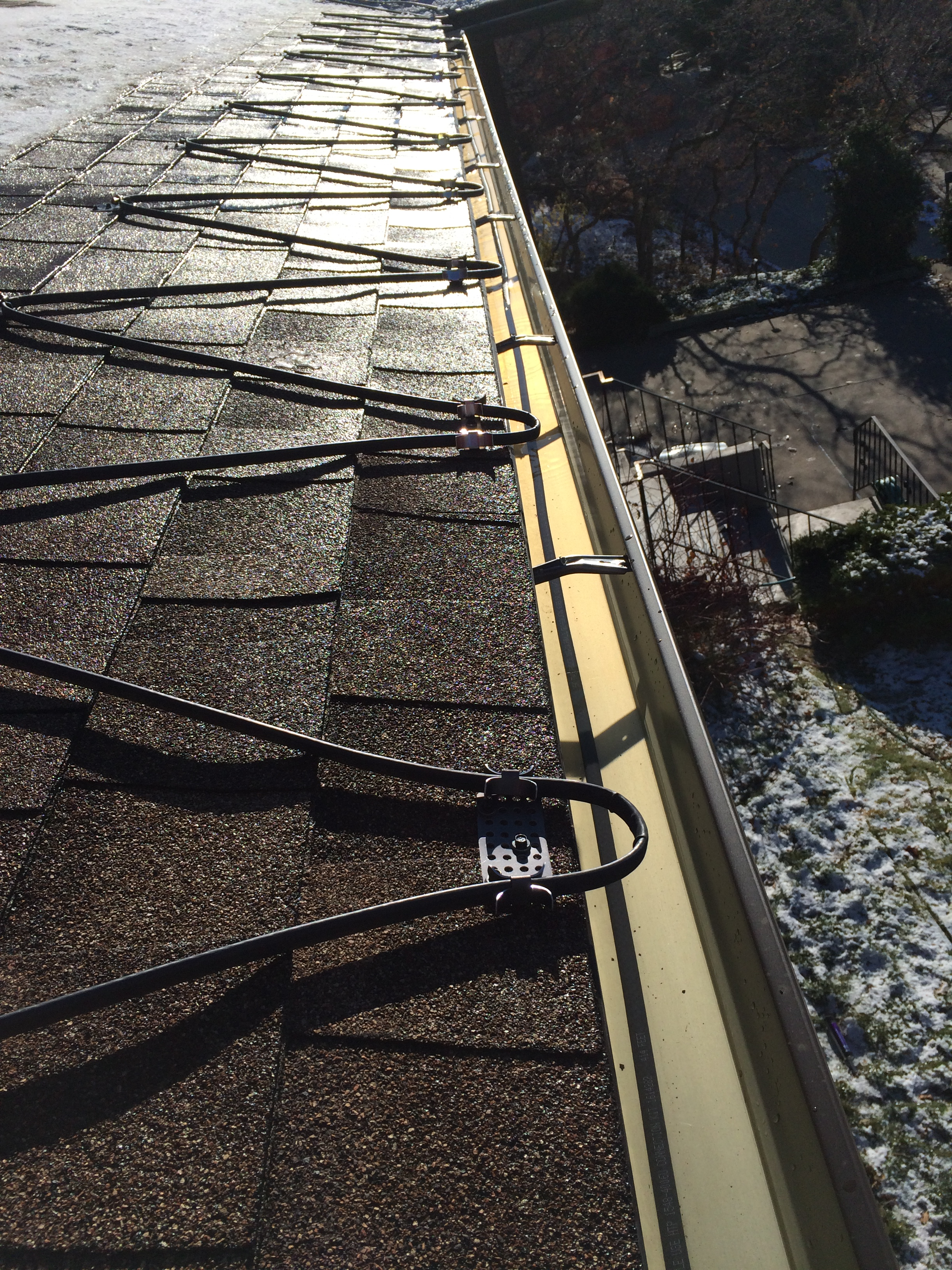 roof ice melt heat cable systems Utah