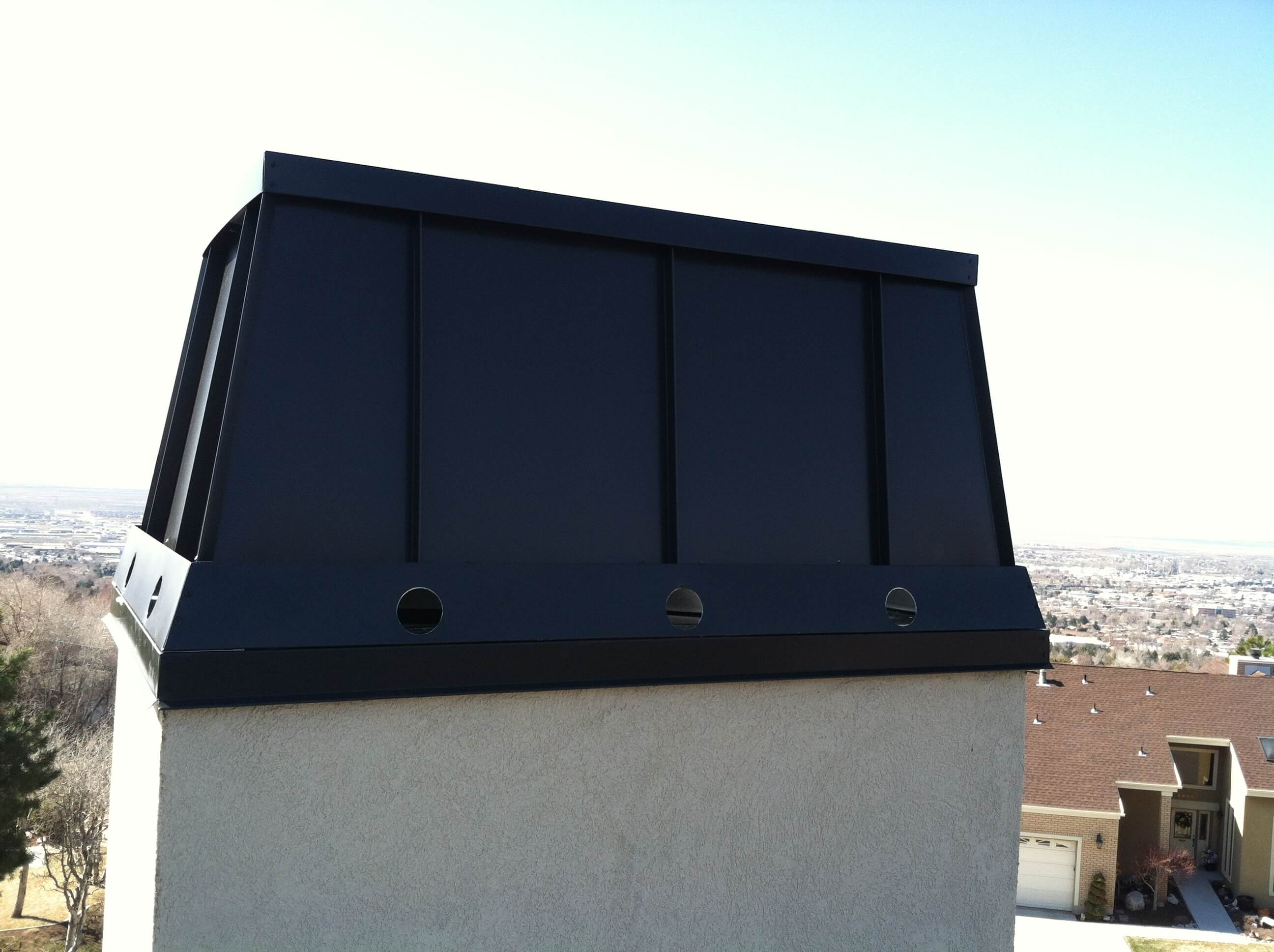 Chimney Caps Utah Wizard Rain Gutters
