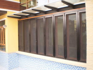 custom screen security door