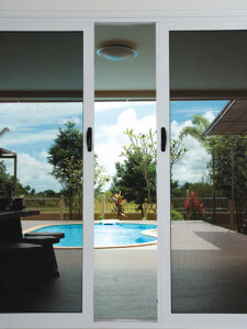 sliding glass door screen security door