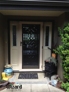 front security screen door
