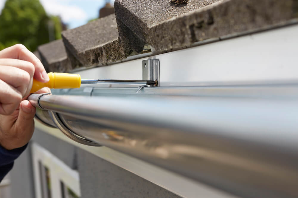 Replacing Rain Gutters