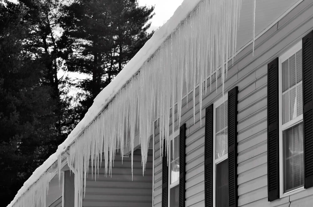 Frozen Gutters Are a Major Winter Hazard